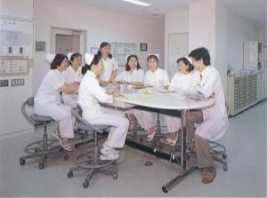 香椎療養所ナースステーション